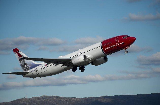 Flyet til Trondheim går uten summeren.