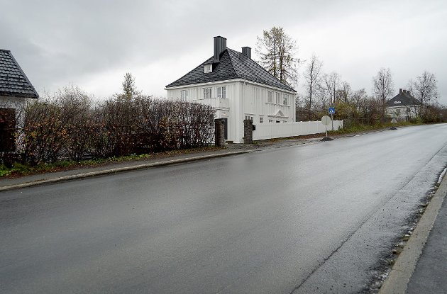 PÅ REKKE OG RAD: LKAB-boligene i Framnesveien ligger på rekke og rad, med store hager i bakkant. At det skal fortettes i området med nye bygg, er forfatteren av dette leserbrevet, Eli Guneriussen, ikke udelt enig i.