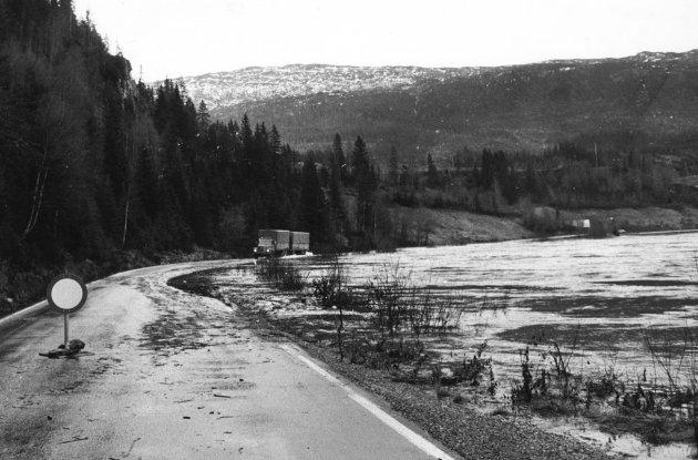Tidlig i november 1978 var det storflom i Vefsna. Elva gikk over sine bredder flere steder. E6 var lenge stengt ved Reinfjellnasen