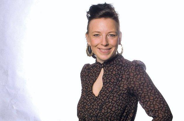Caroline Bjerkland, journalist i Romerikes Blad og leder av Mitt Jessheim