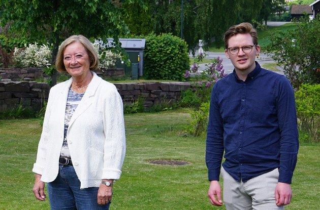 F.v. Lise Christoffersen og Even A. Røed