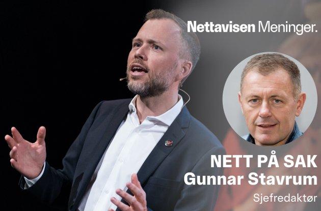 KONTANT AVVISENDE: SV og partileder Audun Lysbakken har vært imot kontantstøtten i 20 år.