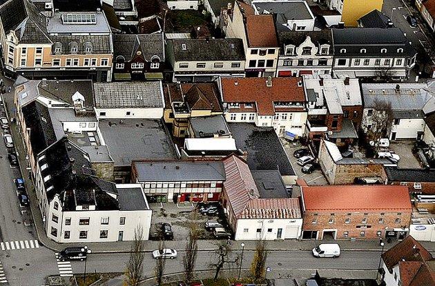 Dag Syversen svarer i dette innlegget på Harald Otterstads spørsmål: Hva synes vi stolte særinger om byutviklingen i Sarpsborg sentrum? Det såkalte Ramdahl-kvartalet er nå lagt ut for salg med tanke på utvikling av både boliger og næringsareal. (Foto: Jarl M. Andersen)