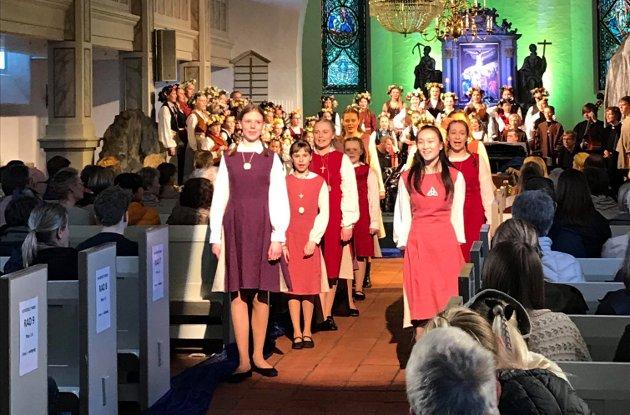Det er imponerende at Kirkens Korskole Nøtterøy kan varte opp med et slikt program, til glede for både store og små.