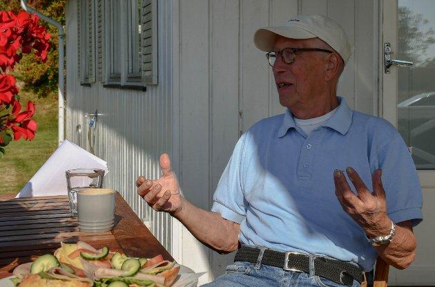 SKRYT: Roy Helge Simonsen skriver om sin opplevelse av helsevesenet etter at han ble akutt kreftsyk.
