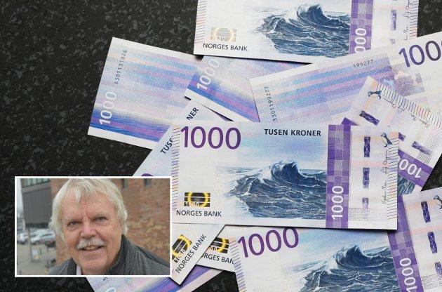 PENSJON: Finansdepartementet arbeider med et forslag om å kunne tappe Folketrygdfondet. Det er et «ran» av pensjonspenger, skriver Jørund Hassel.