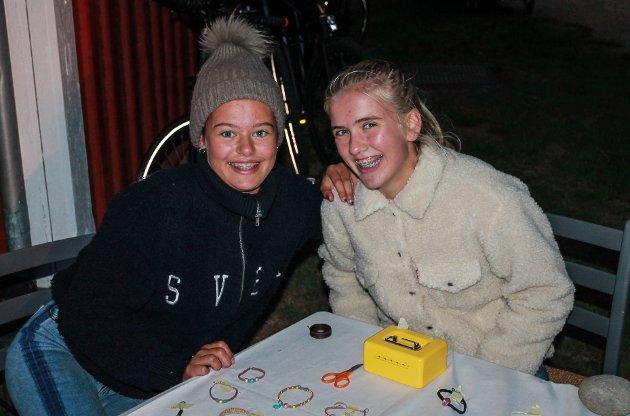 Amanda Fjellstad og Thea Vanay