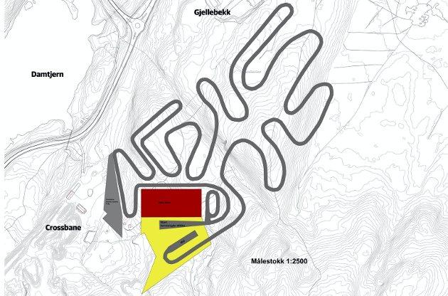 Forslag om å etablere et helårs skianlegg i Leirdalen.