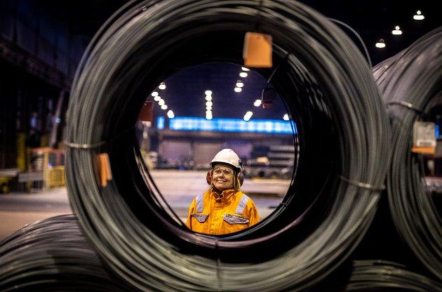 Kjersti Kalberg Berntsen er COO/driftsleder i Celsa. Hun mener planene for videre utvikling i bedriften er meget gode.