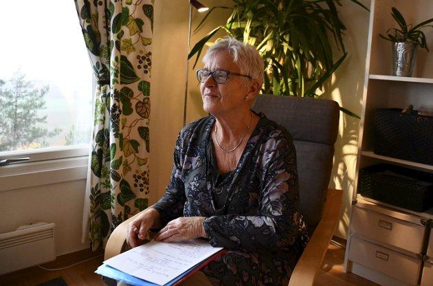 Kjemper for å bli hørt: Kari Melby gir ikke opp kampen om å bli hørt.