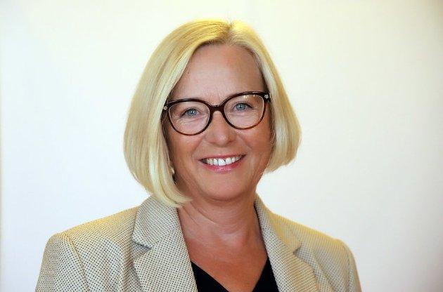 Marit Arnstad, parlamentarisk leder i Sp.