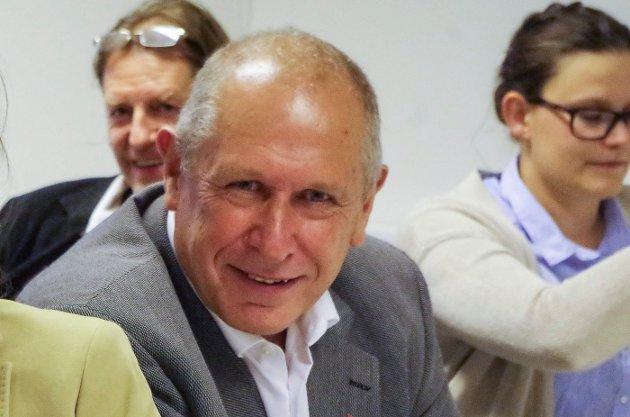 ORDFØRER: Johnny Hagen.