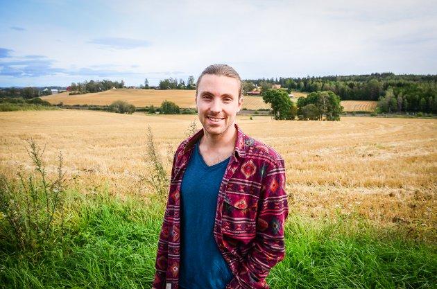 NATURVERN: Tur- og friluftsområder i Nordby og på Vinterbro må vernes mot utbygging, mener Martin Løken (MDG).