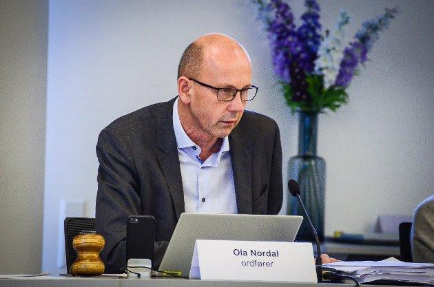 FOLKEVALGTE BESTEMMER: Ordfører Ola Nordal.