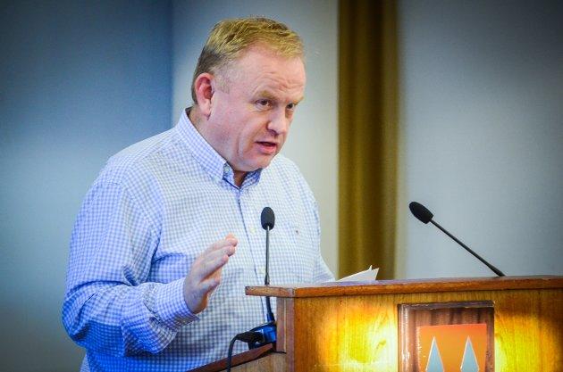 INGEN TILLIT: Kjetil Barfelt (FrP) skriver at han vil fremme mistillitsforslag mot kommunedirektøren og kommuneoverlegen i formannskapsmøtet tirsdag kveld.