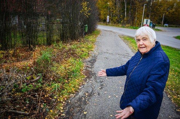 FORSØMMER SITT ANSVAR: Anna Solberg mener at Ås kommune må passe bedre på kulturminner og gamle bygg.