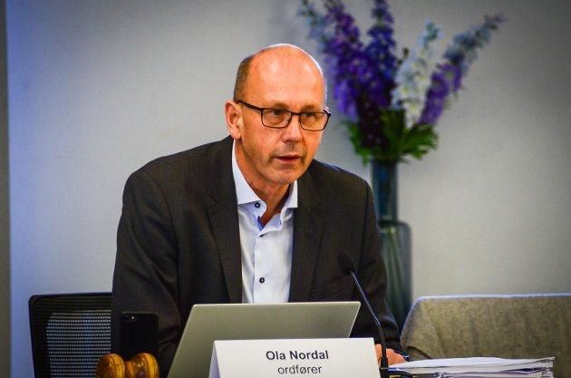 Ordfører Ola Nordal.