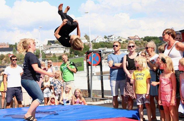 MYE Å FEIRE: Flekkefjord Turnforening har mye å feire i år, da turnforeningen og Laksefestivalen fyller henholdsvis 130 og 30 år. Likevel blir årets laksefestival avlyst.