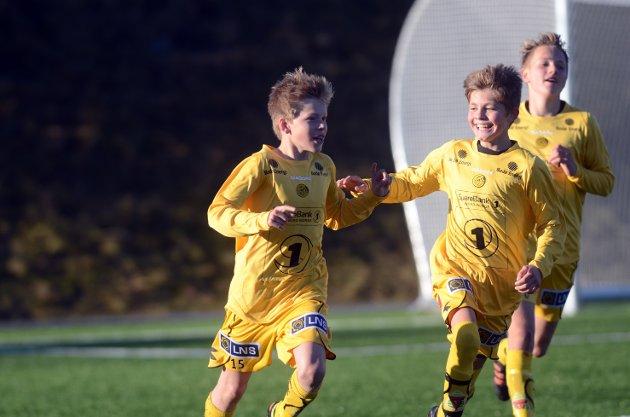 Kretsfinaler i fotball 2012 Mørkvedlia kunstgress  Jens Petter Hauge  Bodø/Glimt smågutter vant