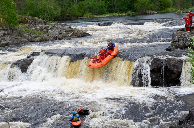 Rafting, Simoa, Blink Hus, Sigdal