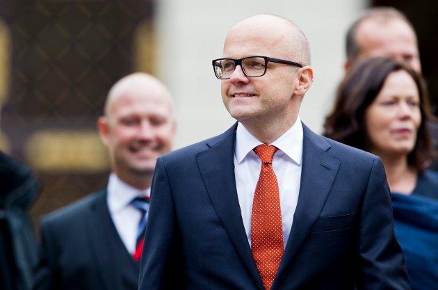 SKRIBENTEN: Vidar Helgesen (H), klima- og miljøminister.
