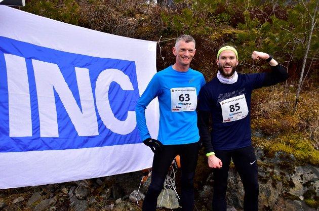 10 km herrer - Arne Aase og Emil Knutsen