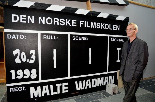 Dekan Thomas Stenderup får støtte fra ansatte ved filmskolen. Arkivfoto: Per Ivar Henriksbø
