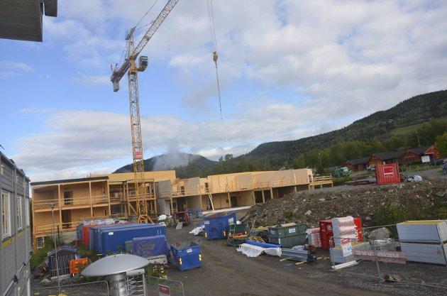 På byggeplasser er det mulig å drive innenfor avstandsreglene i smittevernet.