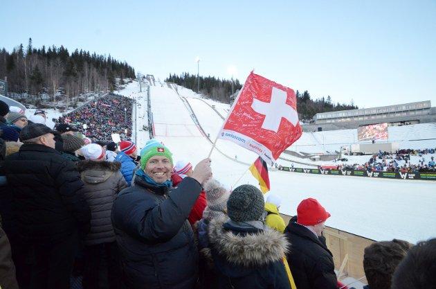 NY GIV?: Bildet viser at Lillehammer-regionen kan mobilisere, om den vil. Helgas WC-renn blir en test.