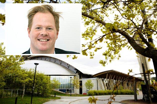 Oddvar Møllerløkken er skuffet over kulturninisteren, men har fortsatt håp om at regjeringen kommer med redningspenger til Olympiaparken.