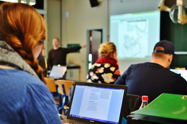IKT-SVIKT: Innlandets skoletilbud fører til IKT-svikt for mange miljøer i Norddalen.
