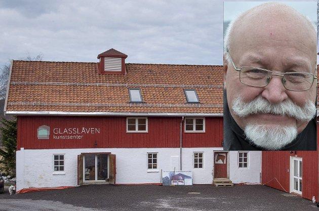 COLUMBI EGG: Dag Nicolaisen om realiseringen av Glasslåven kunstsenter.