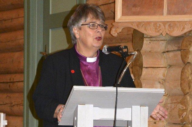 Biskop Solveig Fiske.