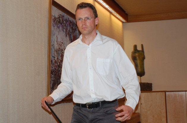 Pål-Arne Oulie, eder for kommunestyregruppa til Gran Senterparti