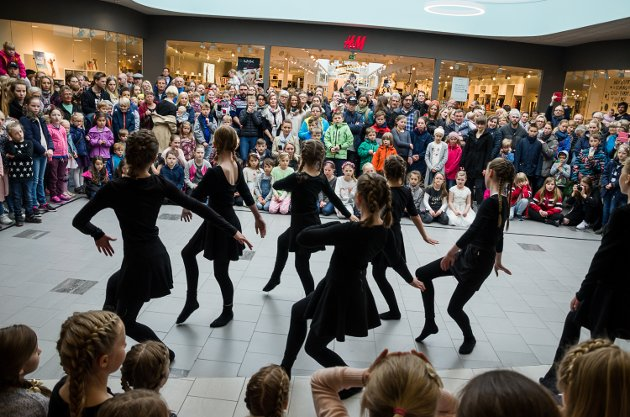 Flere danseshow sto på programmet under Dansens Dager lørdag.