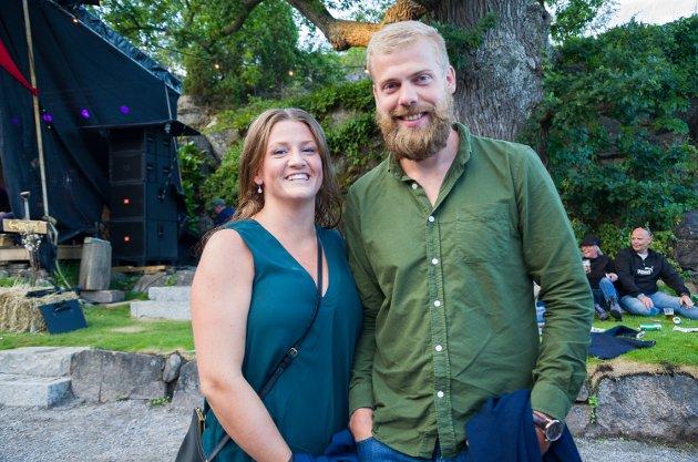 Henriette Torp og Daniel Bokerød