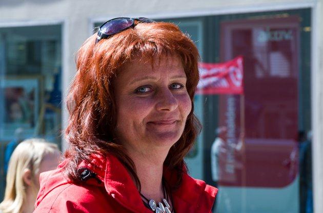 FRITT ORD: Kirsti Brække Myrli er leder i Halden Arbeiderparti.