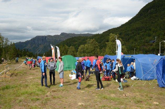 Korlevoll. Vestlandsmesterskapet i orientering samlet mer enn 300 deltakere, fra litt over 70 klubber.