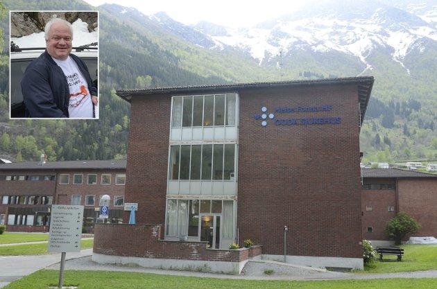 Arnfinn Førsund retter en stor takk til leger, sykepleiere og kirurger på Odda sjukehus.
