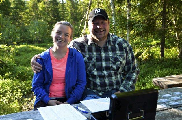 Arnold Bøna og samboeren Elisabeth Treines. Det er de to som har det organisatoriske ansvaret for Sjøbergmarsjen 2017.