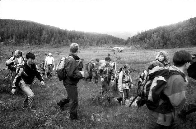 Sjøbergmarsjen 1992.
