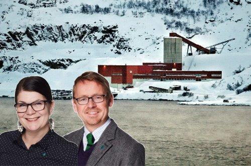 NHO misforstår og misleder om gruvedrift, mener Venstres representanter i Finnmark og Troms. (Montasje iFinnmark)