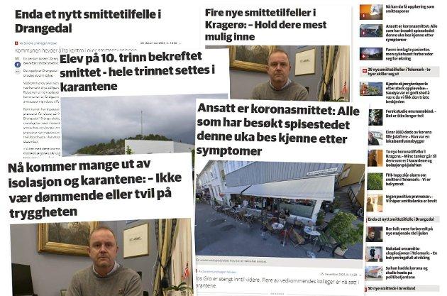 IKKE SENKE SKULDRENE: – Vi må stå løpet ut, skriver KV-redaktør Espen Solberg Nilsen.