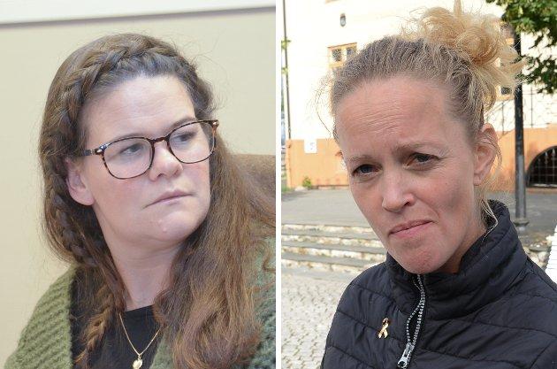 Anne Mette Bufjell Humlestad og Kristine Støen Kivle (Sp)