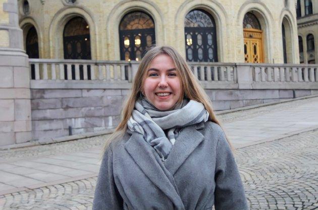 Hanna Lein-Mathisen og Unge Venstre mener rusreformen er det beste som kan skje for vanskeligstilt ungdom.