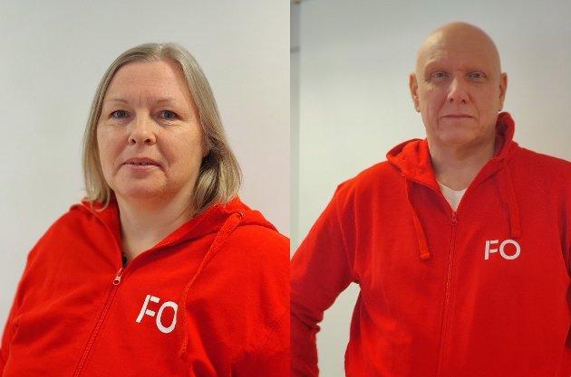FO er bekymret over den politiske vinden som blåser over landet, Skriver Olav Neerland og Åse-Kari Kobbersletten.