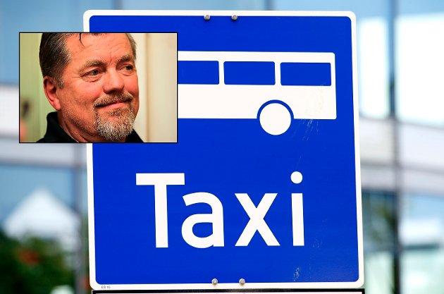 PRIS: - Norske drosjer er i ferd med å tape kampen om kundene fordi de tar for høy pris, mener Roger Hugo Johnsen, leder i Vestre Toten Høyre.