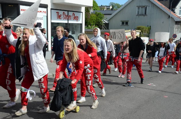 *** Local Caption *** Russetoget 2016