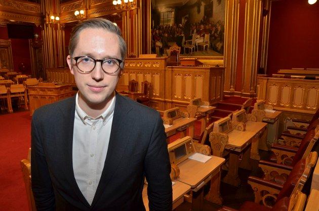 I KØ: Det er ikke bare Kristian Tonning Riises sjokkavgang som gir trøbbel for Hedmark Høyre.