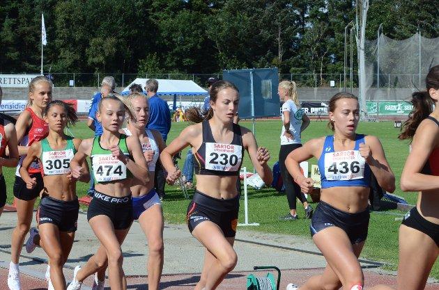 GULL: Ingeborg Østgård bidro sterkt til gullsankingen til hedmarkingene under junior-NM i helga.